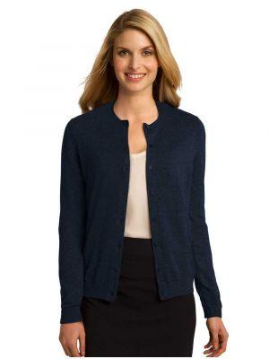 Port Authority Ladies Cardigan Sweater - LSW287